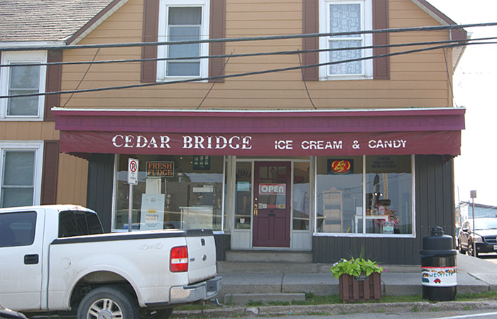 Cedar Bridge Ice Cream