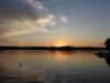Sunset over Whitefish Lake Ontario