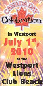 canada day westport ontario