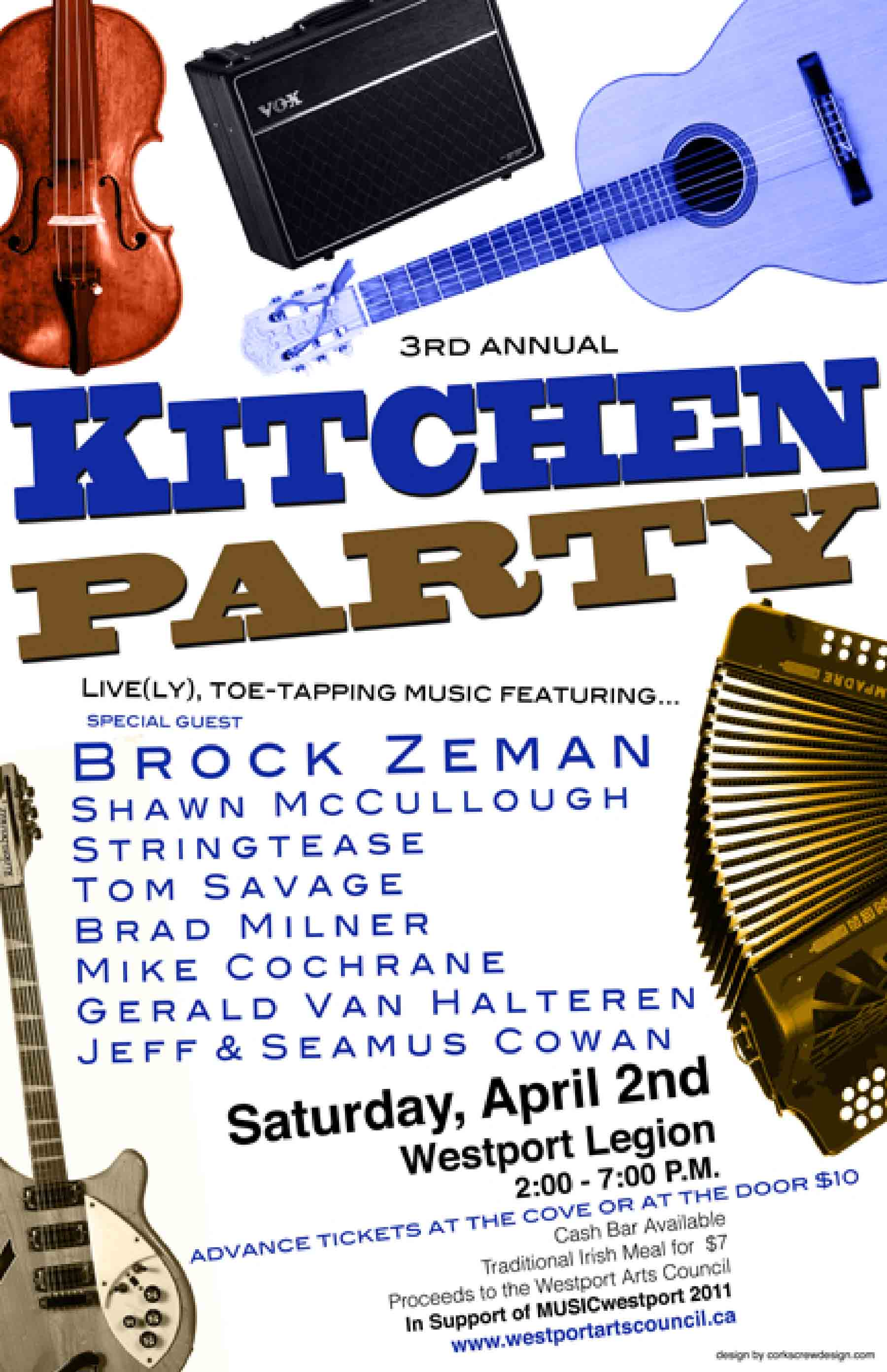 Kitchen Party Annual Kitchen Party Explore Westport Ontario