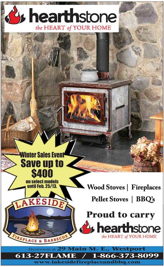 Lakeside Fireplace & Barbecue | Rideau Lakes Ontario