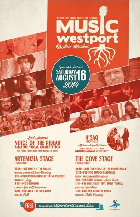 Music Westport and Arts Market