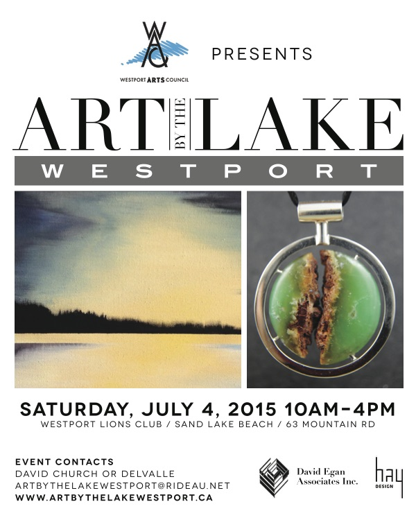 Art by the Lake Westport Ontario