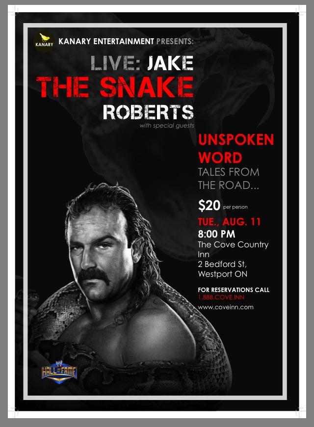 Jake The Snake Roberts 2015