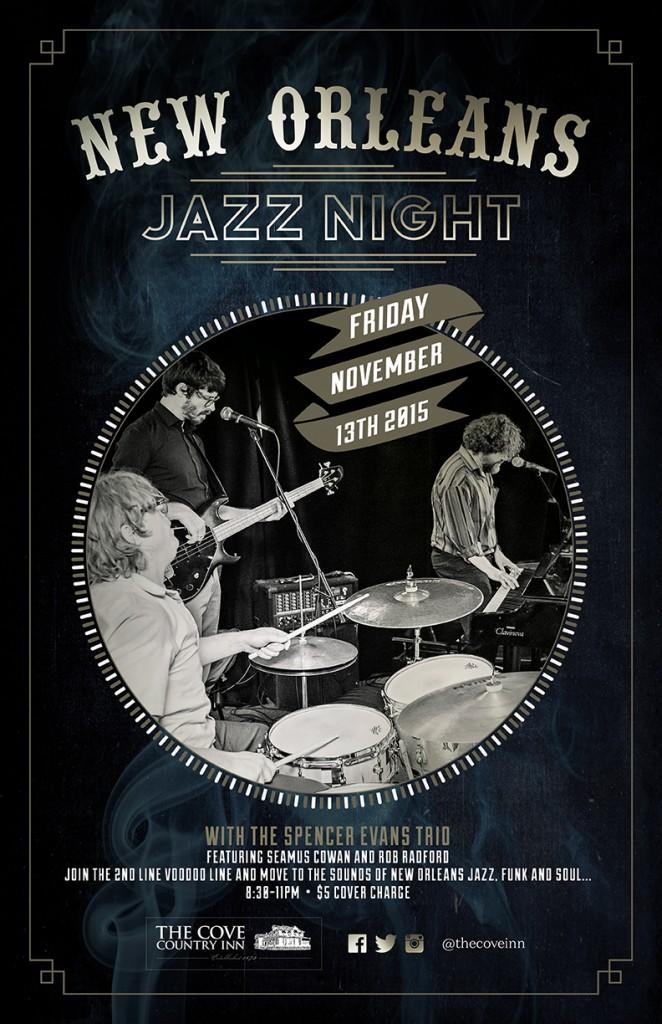 New Orleans Jazz Night 1115