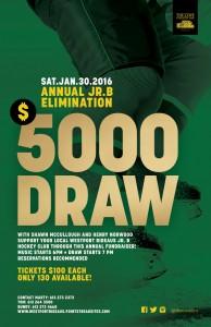 Elimination Draw Jr. B 2016