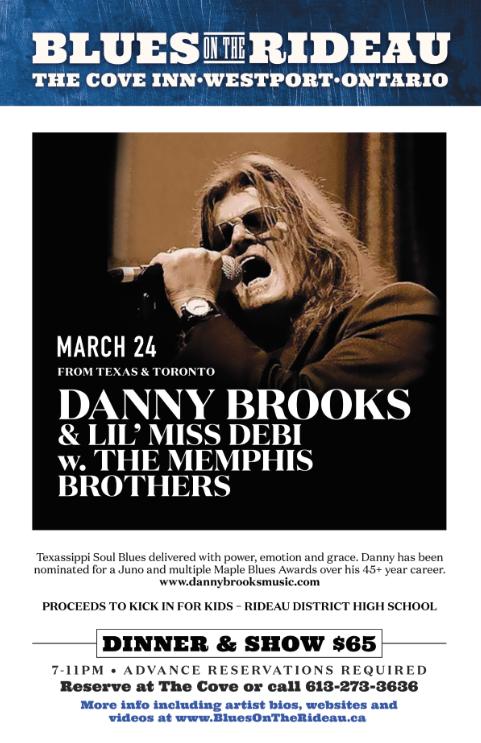 4-Danny Brooks w Lil' Miss Debi & The Memphis Brothers 2017