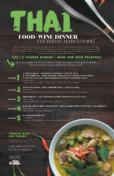 8-Thai food and wine 2017